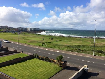 Photo for Amazing Sea views.  Central location. Overlooking Portstewart Old Course.