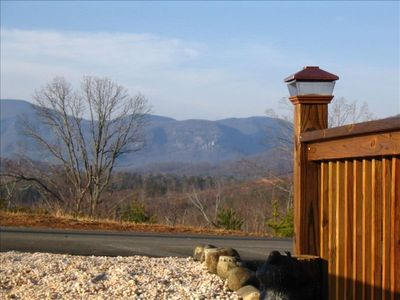 Photo for Mountain View Log Home at Lake Lure