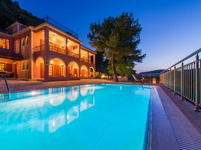Photo for Villa Eora private villa with guest wing pool and superb views