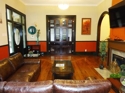 Photo for GRAND ROOM, a SHARED, Luxury 5 BR 6 BA, Victorian Home for Your Enjoyment