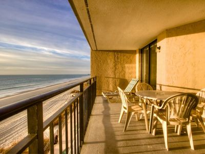 Surfmaster Oceanfront 2 Bedroom with FREE Free Water Park, Aquarium, Golf & More Every Day!