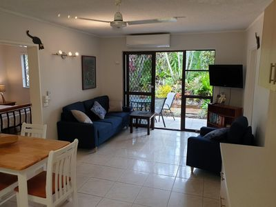 Photo for Palms Trinity Beach Two Bedroom apartment with free WIFI