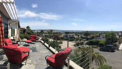 Photo for Bayside bungalow with Garden and Views of Mission Bay and the Pacific Ocean