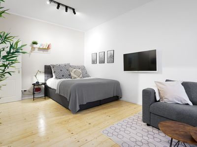 Photo for 1-Bedroom Apartment with open kitchen