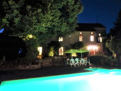 Photo for Beautifully restored 5 bedroom farmhouse, large swimming pool & 12 acres of land