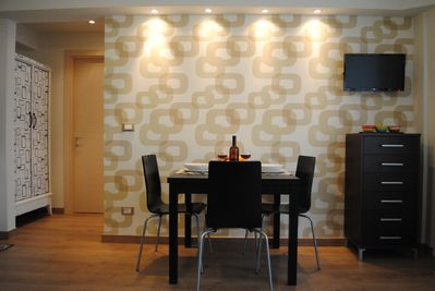 Dining area - apartment B