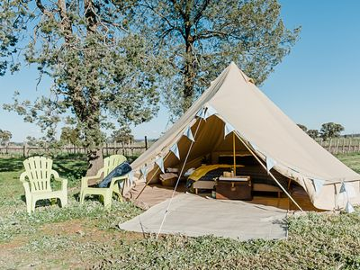Photo for Grapevine Glamping at Cofield Wines