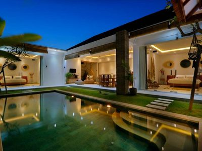 Photo for SPECIAL PROMO -40%, Trendy Private Villa, 2 BR, Seminyak Center w/ staff