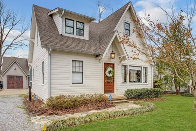 Newly renovated Craftsman's Cottage with historic charm.