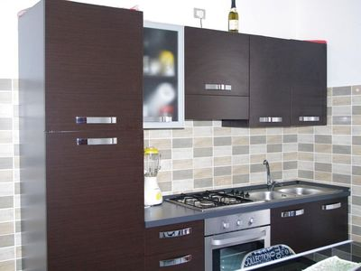 Photo for Dentice apartment in Alghero with WiFi, air conditioning, balcony & lift.
