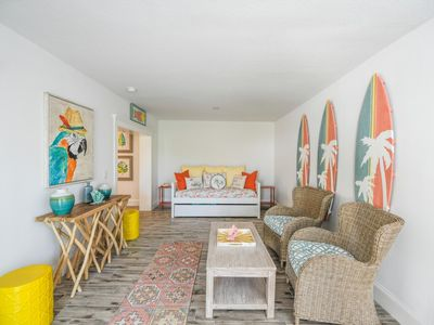 Photo for Barefoot by the Bay w/ Pool, Block to Pine, Pet Friendly, Great for Small Family