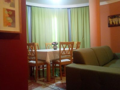 Photo for SPACIOUS APARTMENT EQUIPPED 2 ROOMS, TWO BATHROOMS KITCHEN
