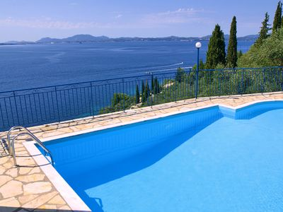Photo for Villa Diana in Nisaki - Spacious, Comfortable and Private Swimming Pool