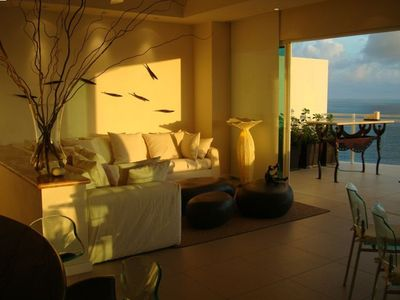 Photo for Deluxe Beachfront Penthouse - Marina Bay View Grand - 2 BR/ 3 Bathrooms A