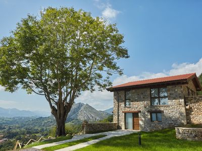 Photo for Beautiful apartment, rural location with stunning views of the Picos de Europa