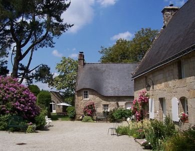 Photo for LE GOHIC Hamlet -  4 Luxury Cottages; Heated Pool; Patio & BBQ; Private Gardens