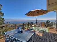 Enjoy spectacular ocean views from this comfortable, well-appointed home.