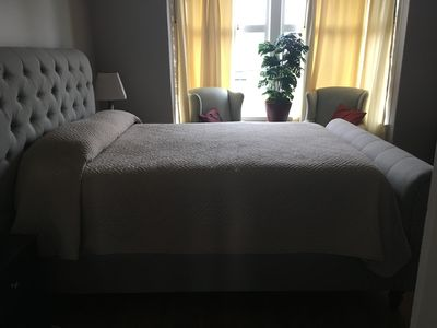 Photo for A Short Walk to Downtown.  Private large 1 Bdrm Suite.