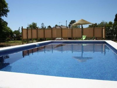 Photo for Lovely renovated house with large pool