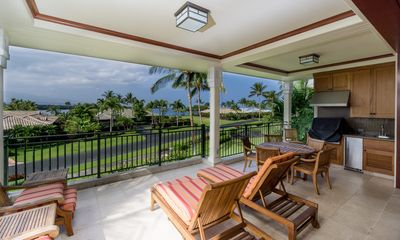 Photo for Enchanting luxury condo w/ large private BBQ lanai, golf nearby, private beach access at the Waikoloa Beach Resort