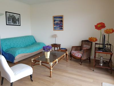 Photo for Nice apartment T3 - 4 to 6 people - Direct view on the port of Pouliguen