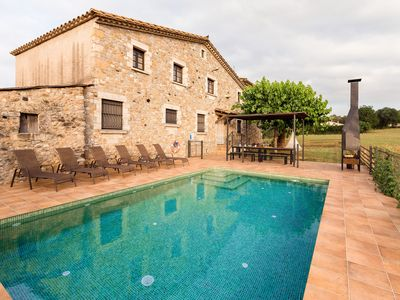 Photo for Country house with garden, pool and barbecue. Completely restored. Nature and countryside!