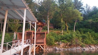 Photo for Relax and enjoy your Lake Nottely cabin in the Blue Ridge Mountains of N. GA.