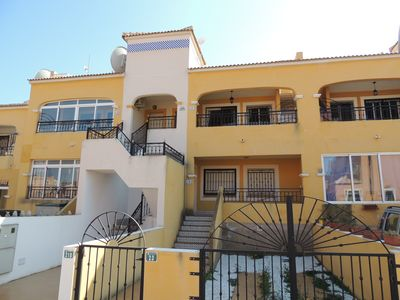 Photo for 1st floor with large solarium & views to the communal pool and salt lake
