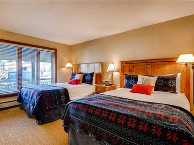 Photo for Hotel with ski-in/ski-out access and shared pool and hot tub
