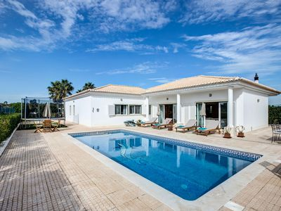 Photo for Peaceful spacious villa with pool, bar, trampoline and mini football pitch