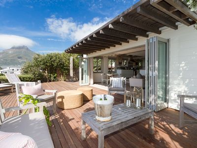 Photo for Bakoven Bungalow on the rocks - walking distance to Camps Bay