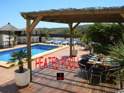 Photo for BEACH 350M, POOL (CLIMATIZED SUPPLEMENT), BAR, JACUZZI, WIFI, BBQ