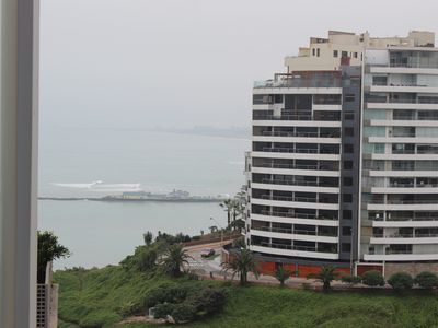 Photo for Cozy apartment with sea view a few steps from the Malecon de Barranco