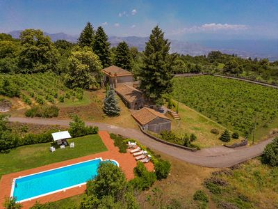 Photo for VILLA LE VIGNOBLE - with pool and sea view