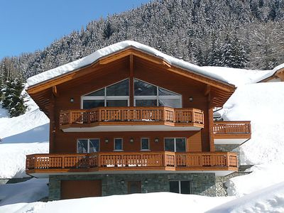 Photo for Vacation home Veronica  in Leukerbad, Valais - 8 persons, 4 bedrooms