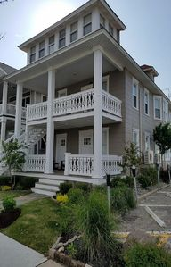 Photo for 5BR, Spacious, Block to Beach Condo, Large Deck w/ Ocean View, Pet friendly