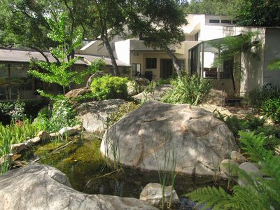 Photo for A Serene Home on Tree Lined Mission Creek in the Middle of Nature