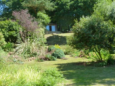 Photo for The Log Cabin - A tranquil, rural retreat only 15 minutes from Exeter,