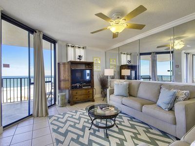 Photo for Beautiful Beachfront Corner Condo | Granite Upgrades | My Beach Getaways