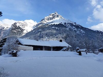 Photo for One bedroom Apartment, sleeps 2 in Gerschnialp with Pool and WiFi
