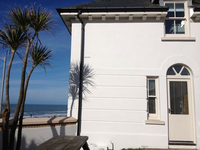 Photo for Uninterrupted views over Fistral Beach, minutes walk from beach