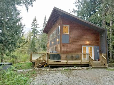 Photo for Mt. Baker Rim Cabin - #58 - This Architecturally Designed home with a hot tub