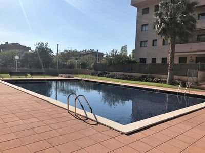 Photo for 129 - MAS TORRELL III. Apartment with 3 bedrooms, swimming pool and parking.