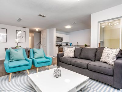 Photo for Disney On Budget - Club Cortile - Welcome To Contemporary 4 Beds 3 Baths Townhome - 5 Miles To Disney