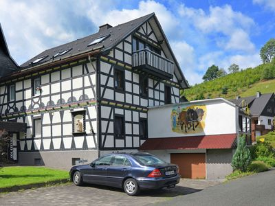 Photo for Ground-floor apartment in the Hochsauerland with countless attractive excursion destinations