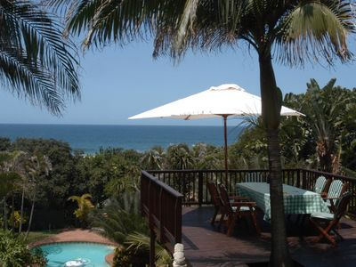Photo for Thatch By The Sea - specious beach house with pool and direct beach access
