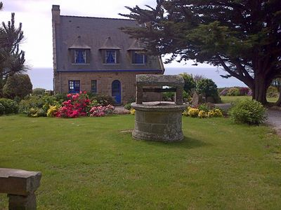 Photo for Port Manech: House with garden exceptional….sight ocean (180°) the countryside comfort