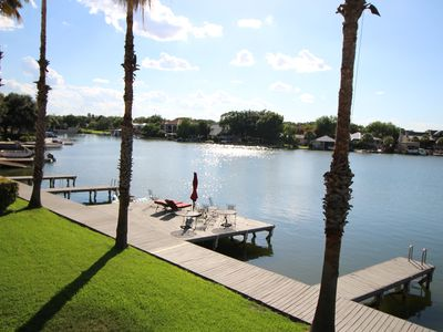 Photo for Beautiful, Waterfront Townhome on Constant Level Lake LBJ