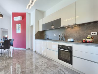 Photo for Vacation home LM in Pula/Krnica - 10 persons, 4 bedrooms