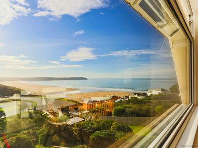 Photo for WOOLACOMBE SUNNYSIDE APARTMENT | 2 Bedrooms - sleeps 5 guests  in 2 bedrooms